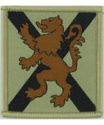Королевского полка Шотландии (Лев на косом кресте на песчаном фоне)