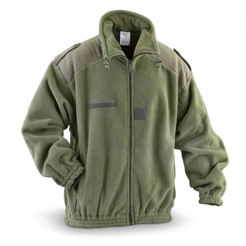 Флисовая куртка армии Франции, олива, новая
