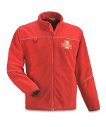 Флисовая куртка королевской почты Великобритании, красная, б/у