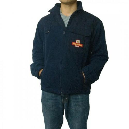 Флисовая куртка королевской почты Великобритании, синяя, б/у