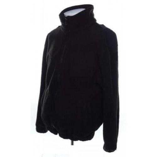 Флисовая куртка негорючая армии Голландии, черная, б/у