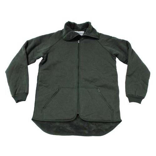 Флисовая куртка-подстёжка армии Голландии, олива, б\у