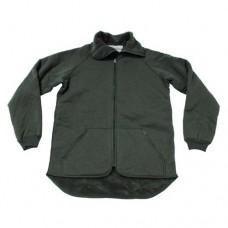 Флисовая куртка-подстёжка армии Голландии, олива, новая