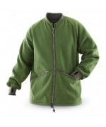 Флисовая куртка - подстёжка армии Великобритании, олива, б/у отличное состояние