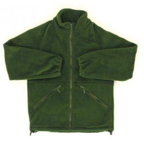 Флисовая куртка - подстёжка нового образца армии Великобритании, олива, б/у