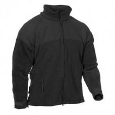 Флисовая куртка Polartec 300 армии США, чёрная, б/у