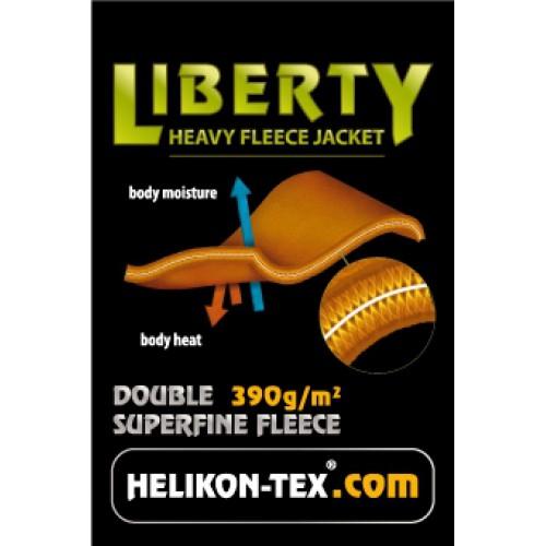 """Флисовая куртка """"Liberty"""", чёрная, новая"""