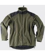"""Флисовая куртка """"Liberty"""", олива/черная, новая"""