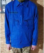 Куртка армии Голландии, синяя, как новая