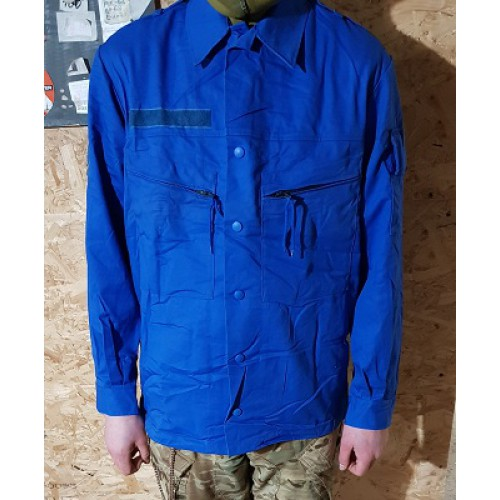 Уценка куртка армии Голландии, синяя, б/у