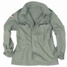 Куртка Бундесвера молескин, олива, новая