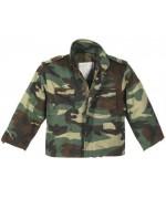 Куртка детская М65 с подстегом, woodland, новая