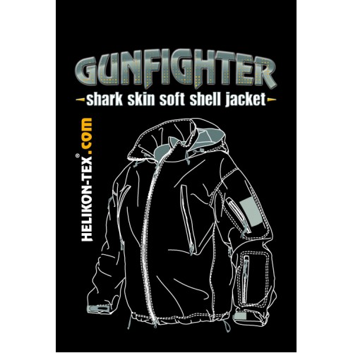 "Куртка Helikon ""Gunfighter"", олива, новая"