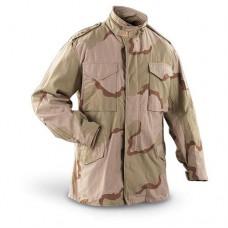 Куртка М-65 армии США, 3 Color Desert, новая
