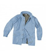 Куртка-м59 армии Швеции, светло-синяя, новая
