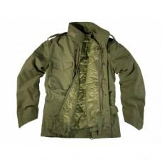 Куртка M65 Helikon с подстёгом, олива, новая