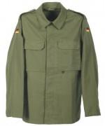 Куртка полевая Бундесвера молескин, олива, новая