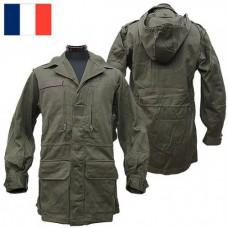 Куртка с капюшоном М-64 армии Франции, олива, новая