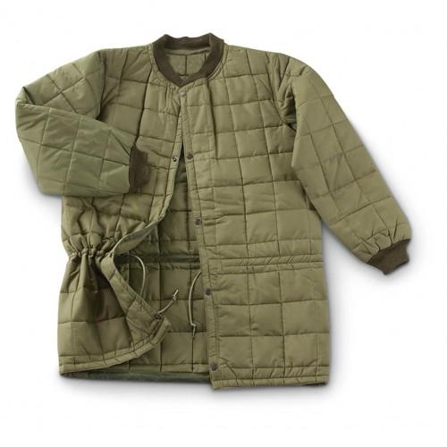 Куртка с подстёгом армии Италии, олива, новая