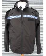 Куртка Soft Shell полиции Великобритании, чёрная, б/у