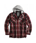 Куртка утеплённая, Lumberjack Jacket, красная