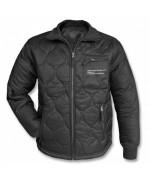 Куртка утеплённая стеганная, чёрная, новая
