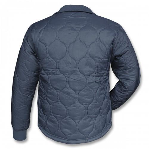 Куртка утеплённая стеганная, тёмно синяя, новая