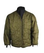 Подстежка под куртку М-65 армии США, олива, б/у хорошее состояние