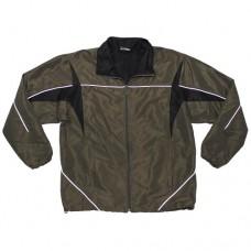 Спортивная куртка армии Австрии, олива, б/у