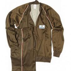 Спортивный костюм армии Италии, коричневый, новый