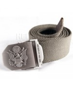 Ремень брючный с эмблемой вооруженных сил США, олива, новый