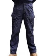 Брюки PCS Combat Trousers FR армии Великобритании, Royal Navy Blue, б/у