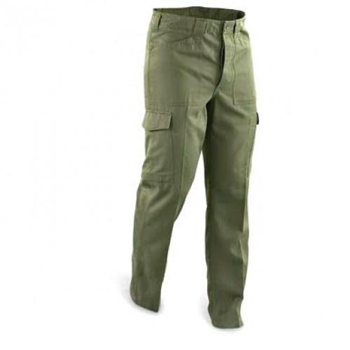 Полевые брюки Tип-75 армии  Австрии, олива, б/у 2 категория