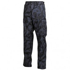 Брюки US Kampfhose BDU, night-camo, новые