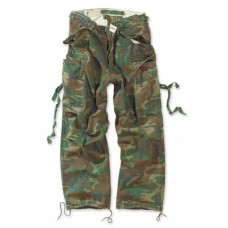 Брюки VINTAGE FATIGUES TROUSERS, woodland, новые
