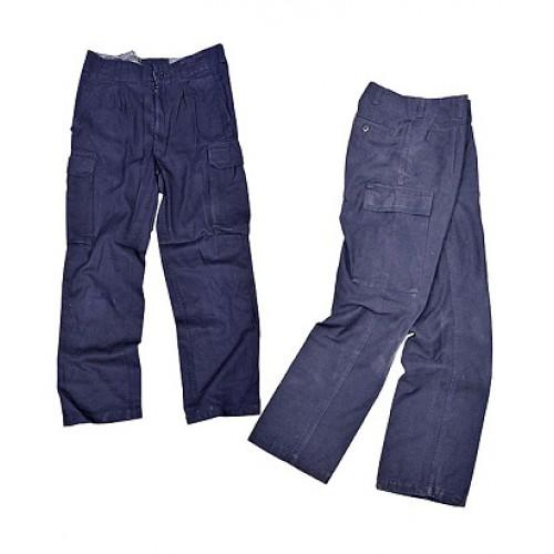 Уценка брюки ВМФ Бундесвера, синие, б/у