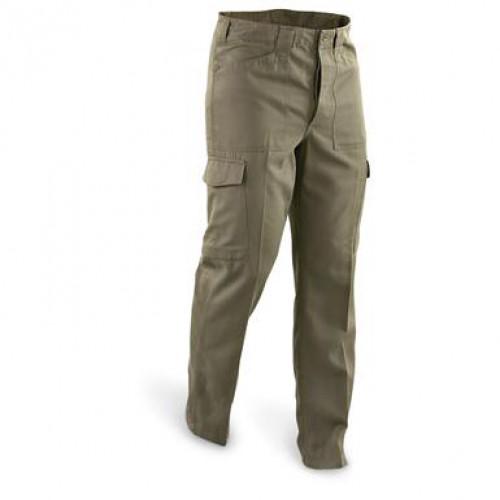 Полевые брюки Tип-75 армии Австрии, олива, б/у хорошее состояние