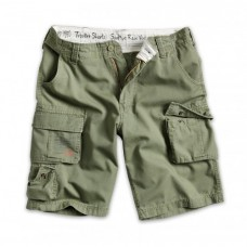 Шорты Trooper Shorts oversize 3XL-7XL, олива, новые