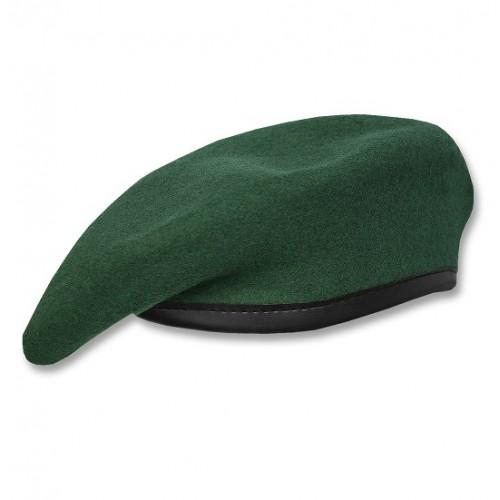 Берет армии Австрии, зелёный, б/у