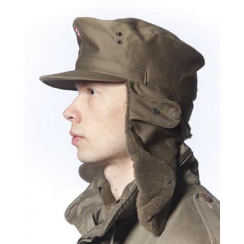 Кепи  зимнее армии Австрии, олива, б/у