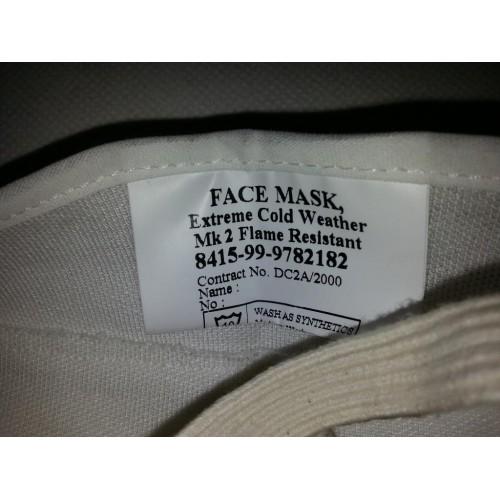 Маска extreme cold weather face mask mk 2 для экстремального холода армии Великобритании, белая, новая