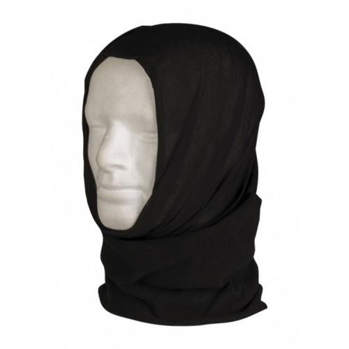 Мульти-шарф флисовый, чёрный, новый