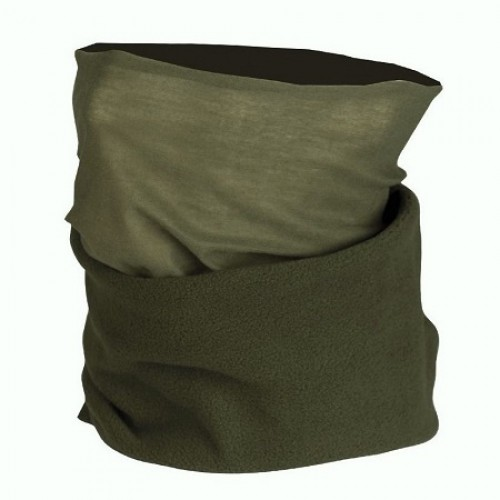 Мульти-шарф флисовый, олива, новый