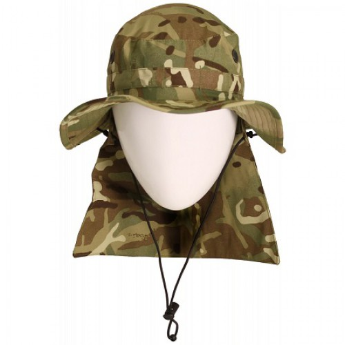 Панама  с защитой шеи от солнца армии Великобритании, MTP, б/у