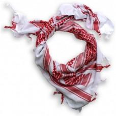 Шемаг (арафатка), бело-красный, новый