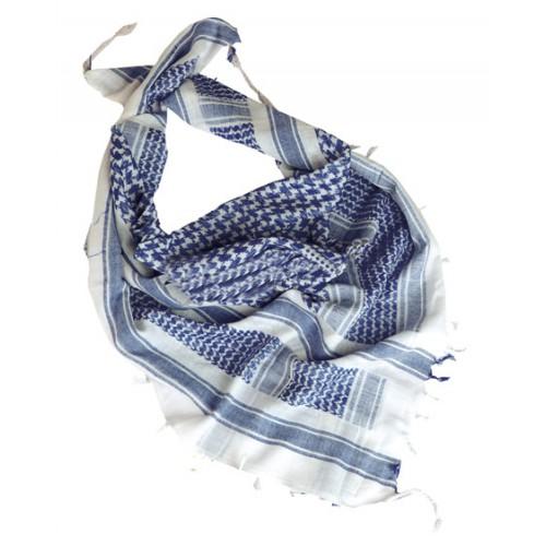 Шемаг  (арафатка), бело-синий, новый