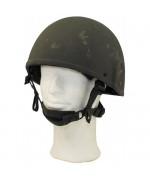 "Шлем защитный армии Великобритании ""GS MK6"", олива, б/у"