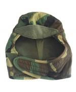Зимняя шапка подшлемник армии США, woodland, б/у хорошее состояние