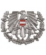 Кокарда  армии  Австрии с дефектом, б/у