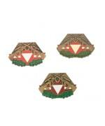 Нагрудный знак армии Австрии, бронза, б/у хорошее состояние